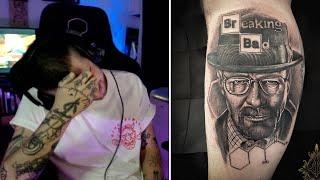 pero este tío cuánta calle tiene? reaccionando a tatuajes de viewers