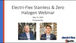 Electri Flex Webinar featuring Stainless Steel & Zero-Halogen Flexible Conduits