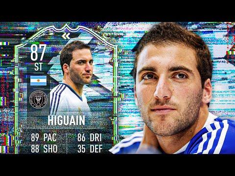 EL PIPITA! 😏 87 FLASHBACK HIGUAIN PLAYER REVIEW! - FIFA 21 Ultimate Team