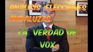 VOX Y ELECCIONES ANDALUZAS. LA VERDAD.