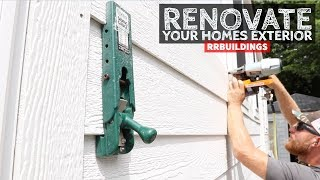 How To Renovate Your Homes Exterior Part 5: LP Window Trims and LP Smartside Siding