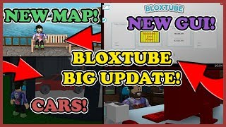 *BIG UPDATE* BloxTube - NEW CODE, CARS , NEW GUI , PARK , FOREST! Roblox