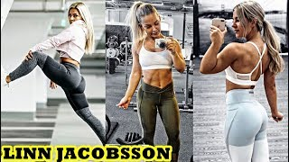 Linn Jacobsson - Fitness Model / Abs,Legs, Butt and Glutes Workout