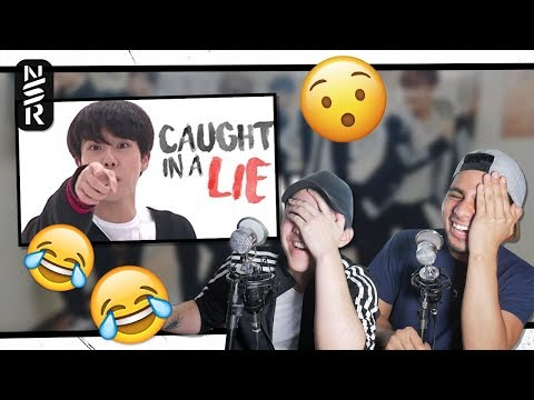 GUYS REACT TO 'When BTS Caught in a Lie' by Shookga