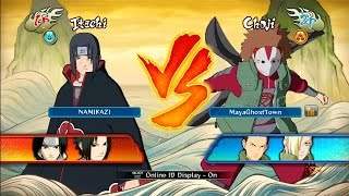 NUNSR: Online Ranked Vs. Battle #5 - Naruto Shippuden Ultimate Ninja Storm Revolution Multiplayer