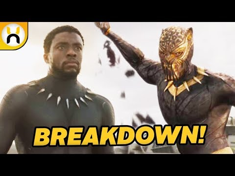 Black Panther Official Trailer BREAKDOWN