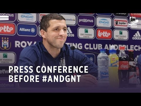Press Conference Before #ANDGNT