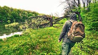 ДИКОЕ ЛЕСНОЕ ОЗЕРО УДИВИЛО КРАСОТОЙ И РЫБОЙ Ловля щуки и Рыбалка на спиннинг в диких местах