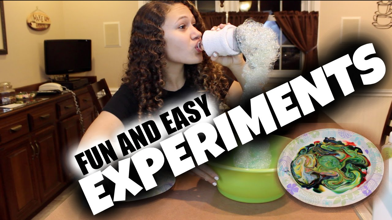 Diy fun easy experiments to do at home youtube for Easy and fun diys to do at home