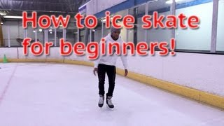 Repeat youtube video How To Ice Skate And Glide For Beginners - Skating 101 For The First Time Learn To Skate Tutorial