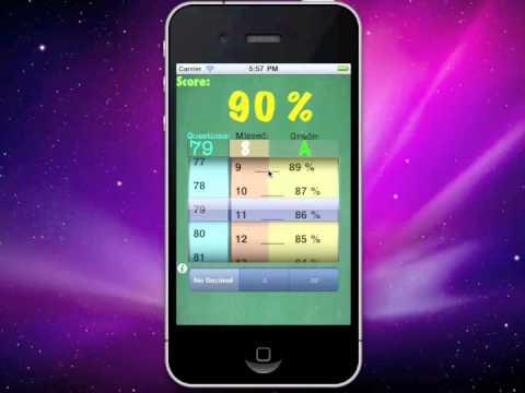 iPhone Grader Grade school app College High Jr School