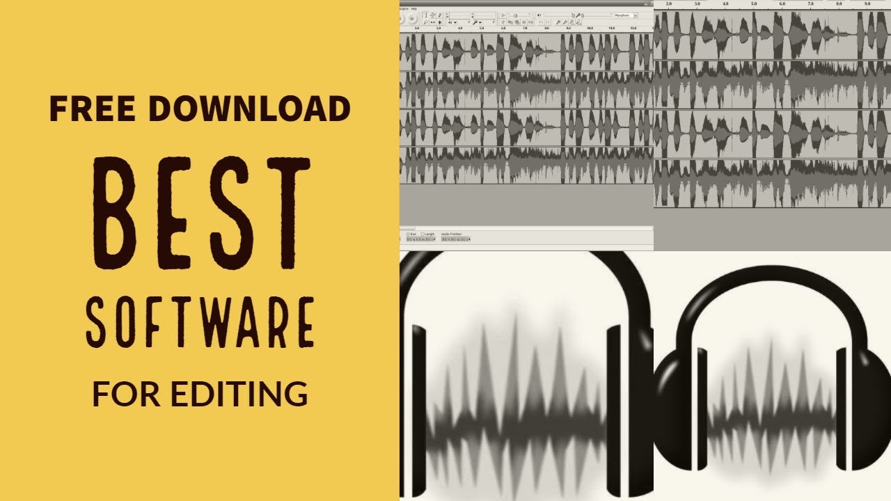 Audio editing software for windows 7 free download.