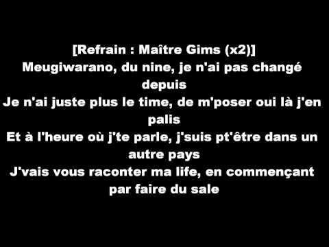 Marin Monster ft.Maître Gims-Pour Commencer lyrics