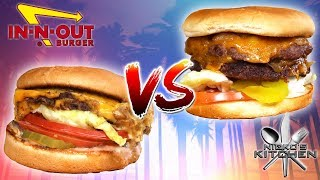 IN-N-OUT BURGER vs HOMEMADE - The iconic battle begins!!