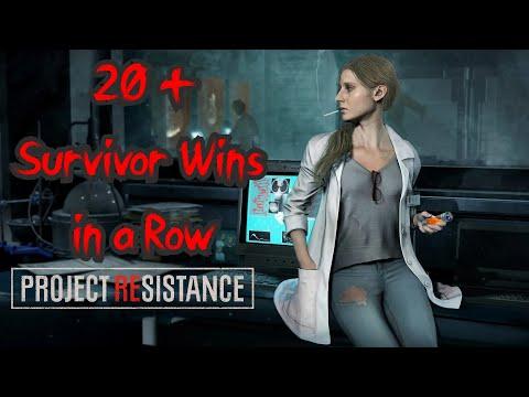20+ SURVIVOR WINS IN A ROW - Project Resistance