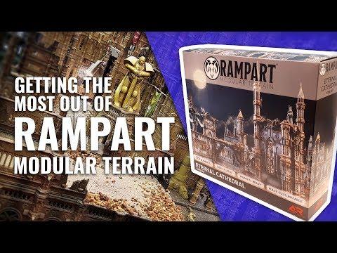 Great for 40K - Rampart: Modular Terrain for Wargaming