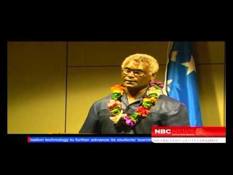 Solomon Islands PM Arrives_NBC News
