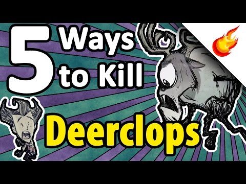 how to kill the deerclops