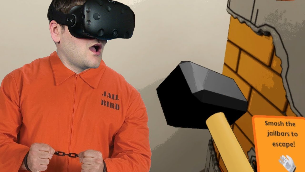 UCIEKAMY Z WIĘZIENIA – Prison Boss VR (#3) HTC VIVE VR