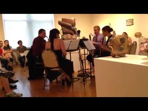Music Monday in the Miller Gallery with Novacane Quartet