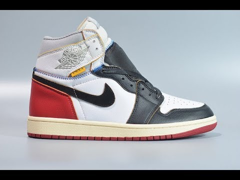 7db646f94e0 Closer Look at Union Los Angeles Air Jordan 1 Retro High Black Toe ...