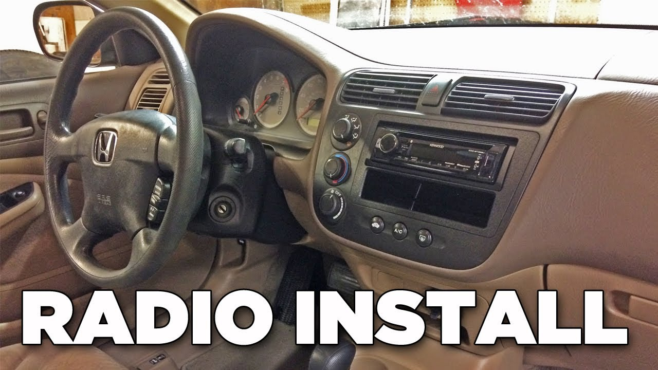 How To Install Radio In 2001-2005 Civic (Detailed Installation) | Project Kenwood Kdc Radio Wiring Diagram on kenwood home stereo system wire diagram, kenwood wiring manual, kenwood stereo wiring, delco radio wiring diagram, gm radio wiring diagram, ac wiring diagram, chevy factory radio wiring diagram, kenwood radio kdc-152 wiring, car amplifier wiring diagram, kenwood radio schematic, kenwood car radio wiring diagram,