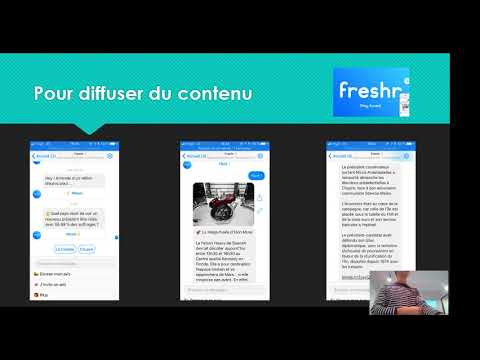Conférence : Créer Un Chatbot En 2 Heures Avec ChatFuel
