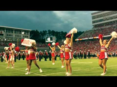NC State Cheerleading, Week 1