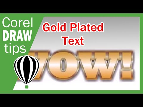 how to create 3d effect in coreldraw x3