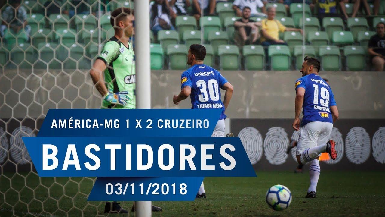 c5ba0eba80 03 11 2018 - Bastidores - América MG 1 x 2 Cruzeiro - YouTube