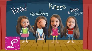 Head Shoulders Knees and Toes and MORE! Kids Nursery Rhymes Collection! (Sing It)