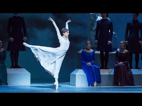 The Royal Ballet rehearse The Winter's Tale