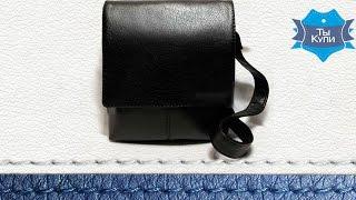Мужская сумка через плечо черная Alex_4 купить в Украине - обзор