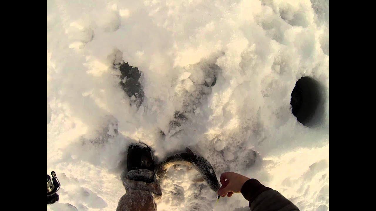 Island park idaho ice fishing youtube for Idaho ice fishing report