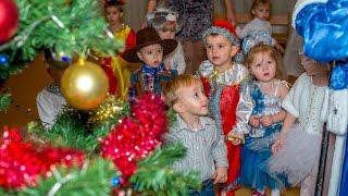 Веселый новогодний танец, ясельная группа Новый год в детском саду