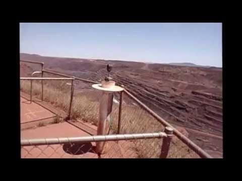 BHP Billiton Iron Ore MT Whaleback Mine Tour.