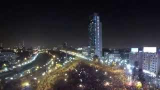 Celebración Victoria de Chile vs España (2-0) - Brasil 2014