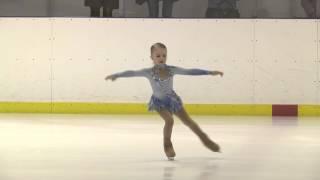 Александрова Милана, 6 лет (дебют, теперь юный фигурист;-))