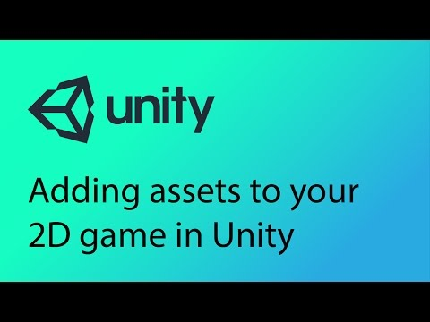 Unity 2D Game Design Tutorial 2 - Adding assets to your scene