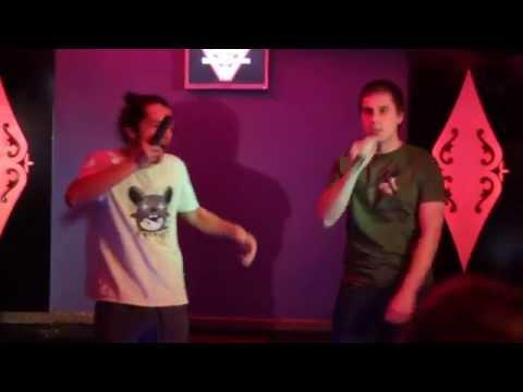 """""""Killing In The Name Of"""" performed at karaoke bar Versus"""