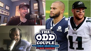 Chris Broussard & Rob Parker - Who's The Most Concerning Quarterback: Dak Prescott or Carson Wentz?