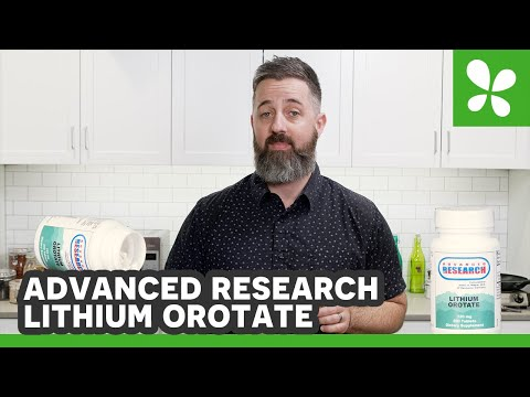 Advanced Research Lithium Orotate for Mood Stabilization | Review