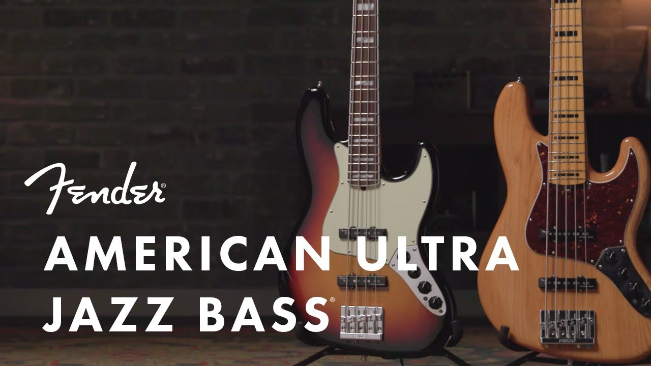 Fender American Ultra Jazz B - Aged Natural with Rosewood ... on