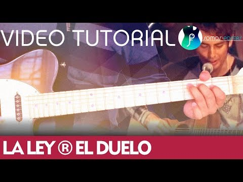 How to play EL DUELO on guitar - La Ley [Tutorial Somos Posers]