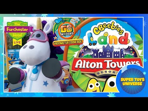 Our Day At...Cbeebies Land - Alton Towers
