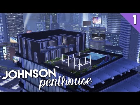 The Sims 4 Build || Johnson Penthouse || Part One
