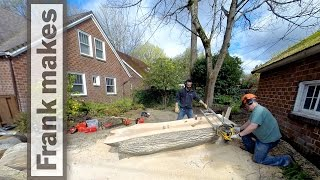Chainsaw Milling a Maple Tree