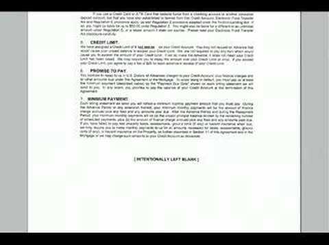 line of credit agreement pdf