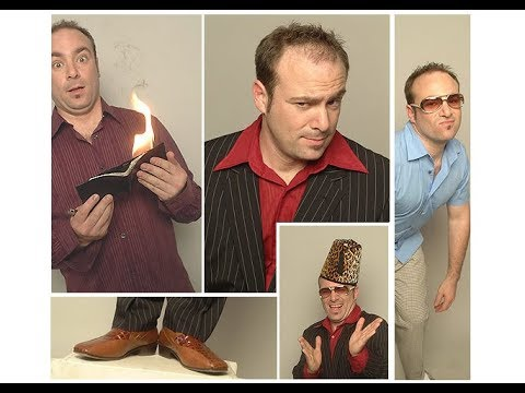 """Magician PeterGross performs """"Magic and Other Suspect Activities"""""""