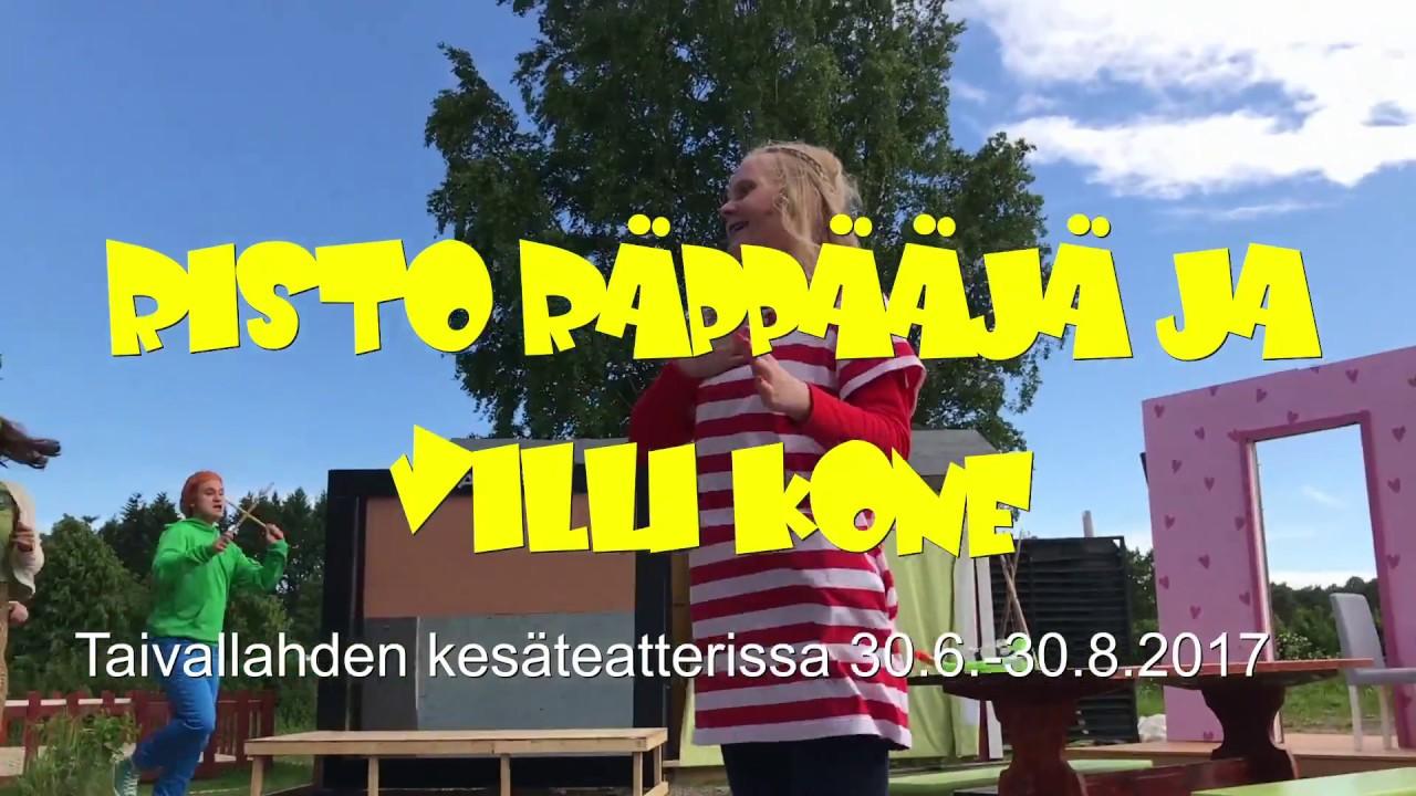 Risto Räppääjä Ja Villi Kone